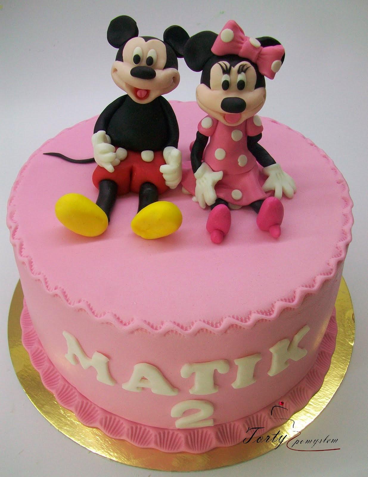 tort z Myszką Minie i Miki