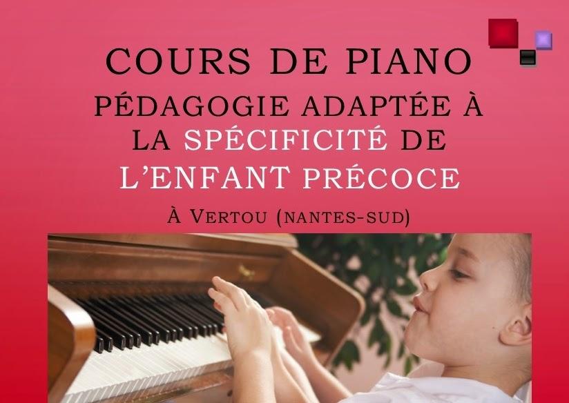 cours de piano nantes pour enfants precoces. sylvie stéphanidès