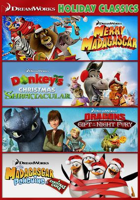 Dreamworks Clássicos Natalinos Filmes Torrent Download capa