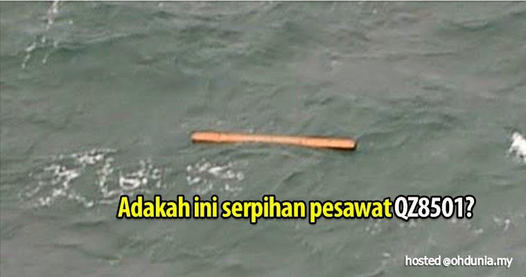 Beberapa serpihan pesawat QZ8501 dijumpai di Pangkalan Bun?