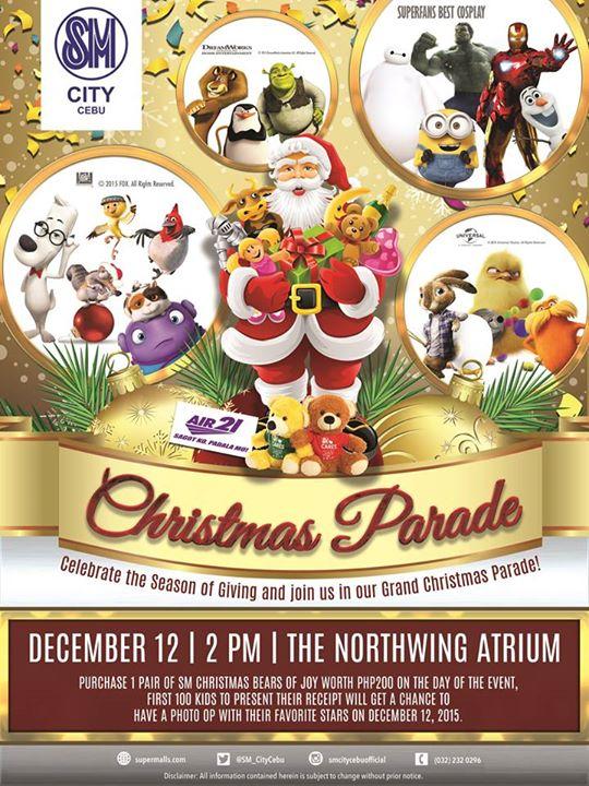 SM_City_Cebu_Christmas_Parade