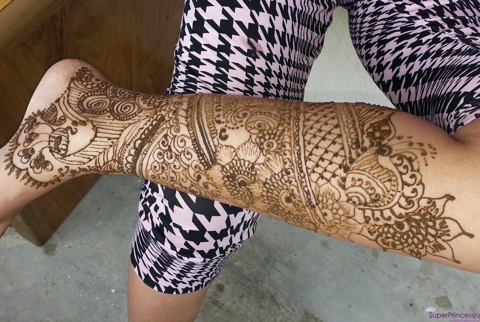 Superprincessjo Henna Mehendi Designs Full Feet Henna Tattoo Art