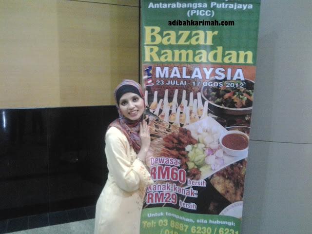 Majlis Iftar di bazar ramadan PICC bersama rakan kongsi GLG dalam Premium Beautiful Corset business