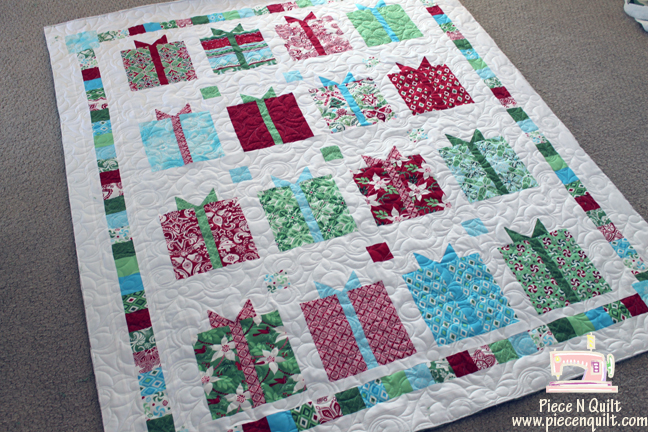 Piece N Quilt: Flurry Christmas Present Quilt {edge to edge ... : quilting presents - Adamdwight.com