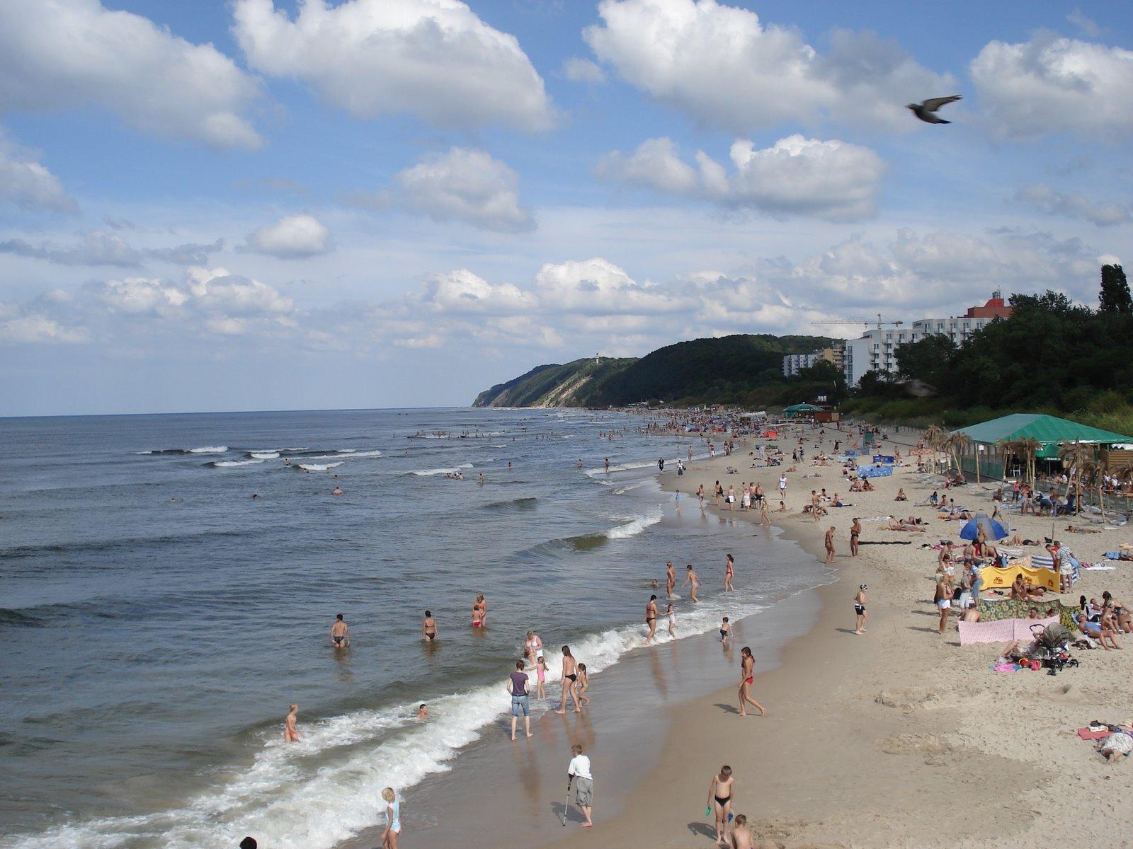 Międzyzdroje - plaża