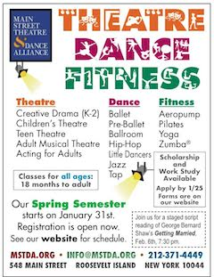 Register Now For Main Street Theatre & Dance Alliance Spring Classes