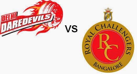 Delhi Daredevils vs Royal Challengers Bangalore