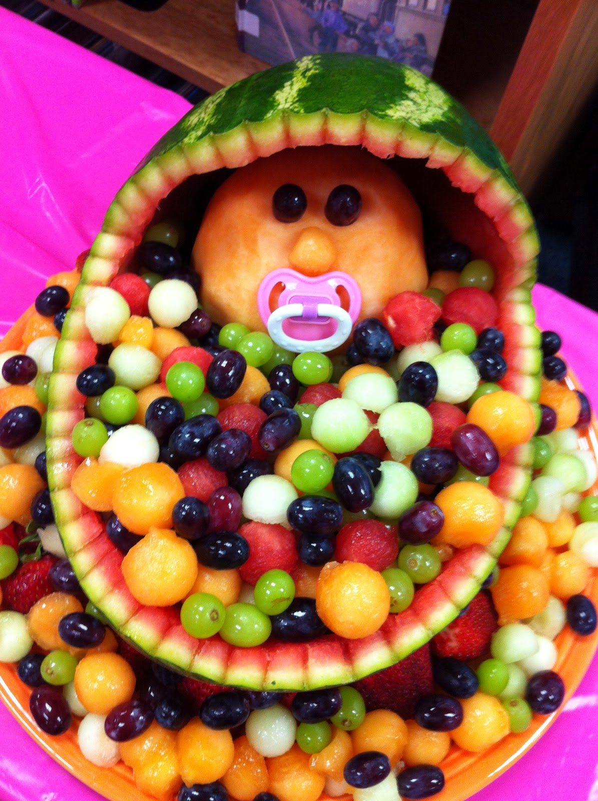 Ms reid ms bacola and i made a fruit baby