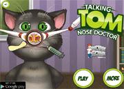 Talking Tom Nose Doctor