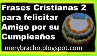 . Mensajes cristianos cortos de cumpleaños de felicitación de ...