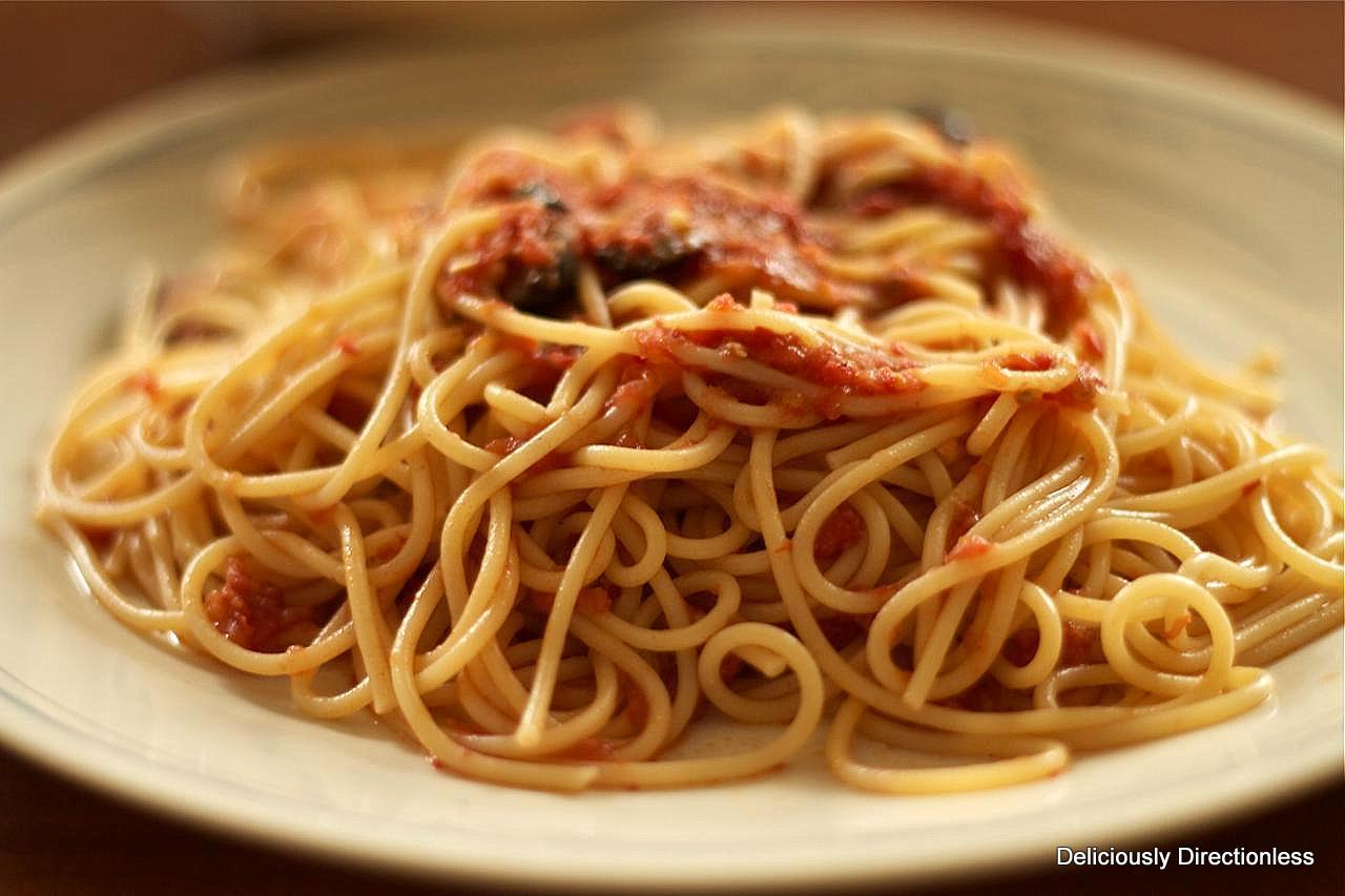 Deliciously Directionless: Spaghetti alla Puttanesca