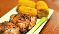 Grilled Chicken and Corn Recipe | Healthy Chicken Recipe