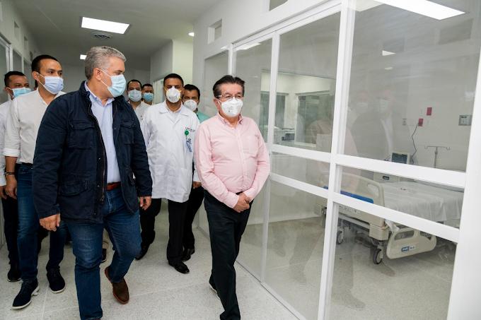 Más de 100 mil habitantes se benefician con las Unidades de Cuidado Intensivo e Intermedio del Hospital Regional de García Rovira