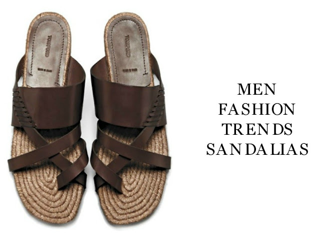 Men Fashion Trends Sandalias