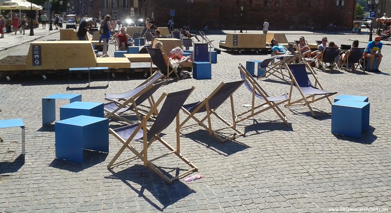 urban furniture, , urban design, Gdansk