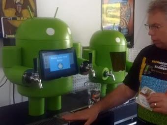 KegDroid - android serwujący piwo