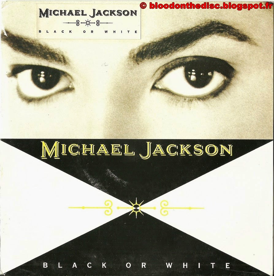 Black Or White 45T Front Cover