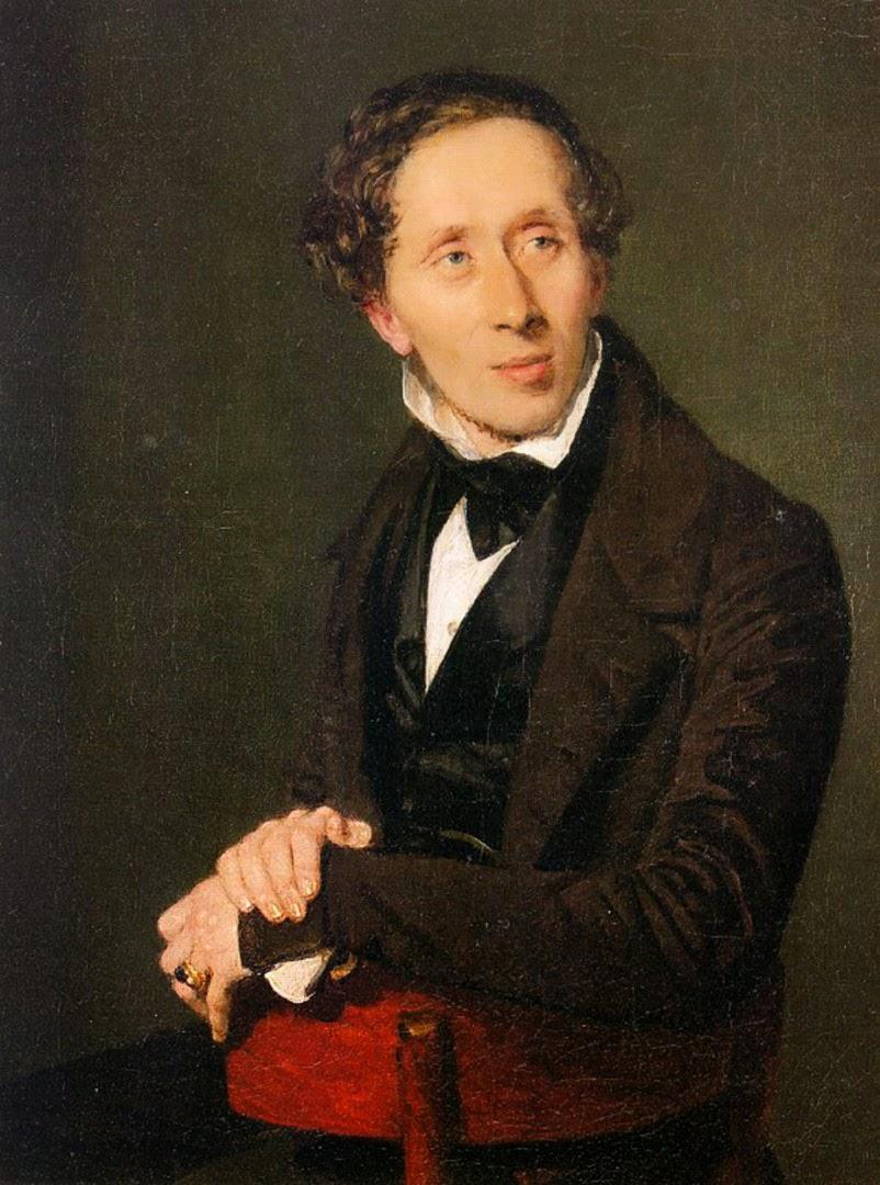 Hans Christian Andersen by Christian Albrecht Jensen