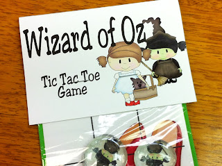 Wizard of Oz Games Tic Tac Toe game