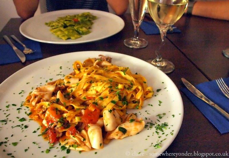 Lunch - Manarola - Cinque Terre, Italy
