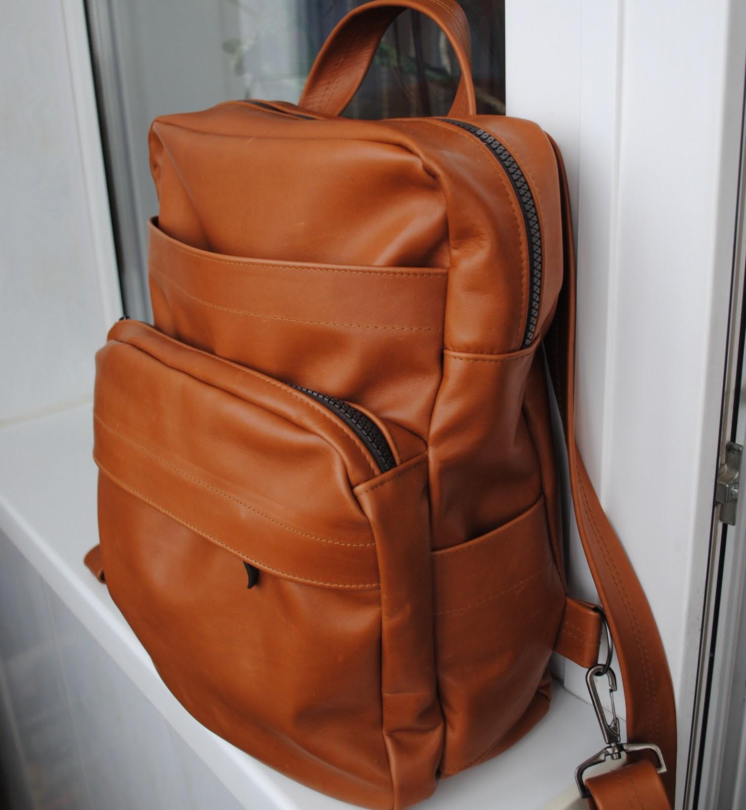 Рюкзак из кожи выкройка рюкзаки через плечо для ношения детей
