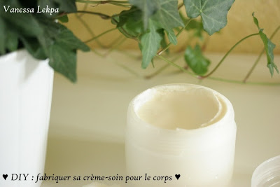tuto beauté creme maison ingrédients bio caféine minceur vitamine c