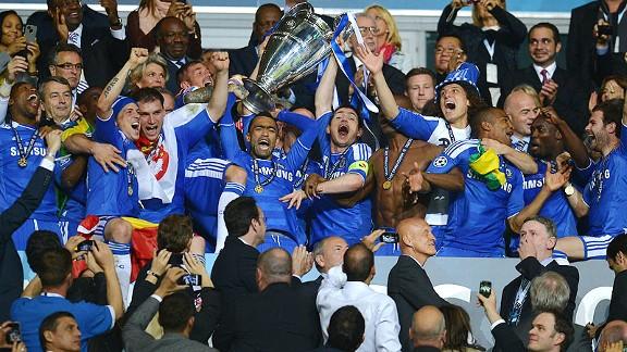 Chelsea Win UEFA Champion League 2012