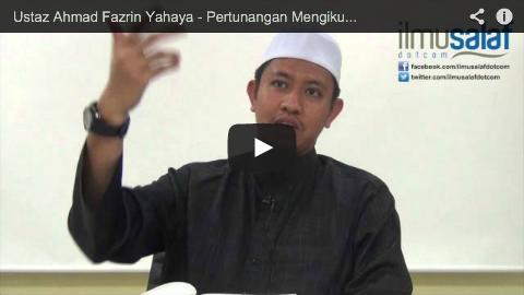 Ustaz Ahmad Fazrin Yahaya – Pertunangan Mengikut Syariat