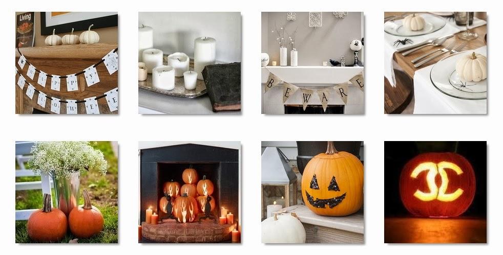Feestdagen stijlvolle halloween decoratie voor in en om het huis stijlvol styling woonblog - Huis om te versieren ...