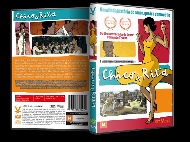 Capa DVD Chico E Rita