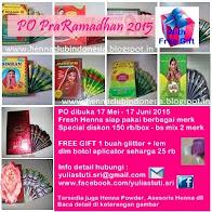 Pre Order/PO Pra Ramadhan 2015