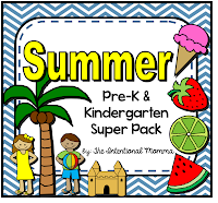 lesson plans May summer beach ice cream fruit math