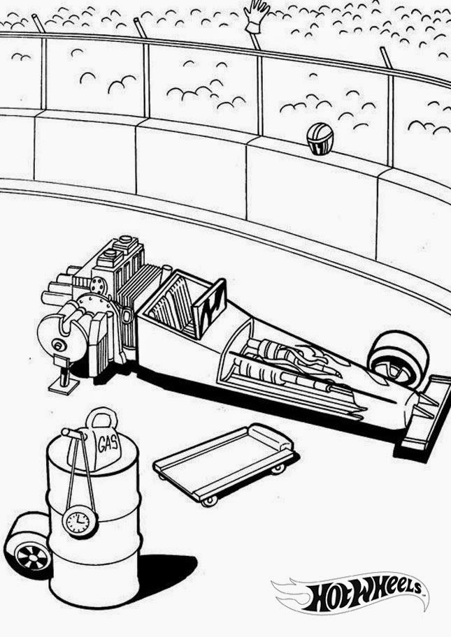 Hot Wheels Coloring Pages 7