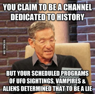 history channel, maury meme