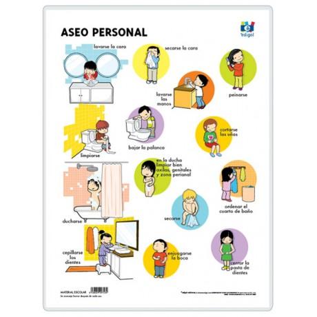 La higiene personal for Imagenes de utiles de aseo
