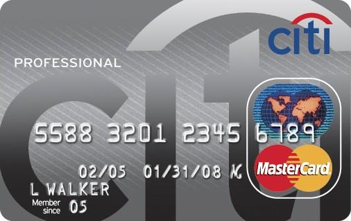 Citi forex card