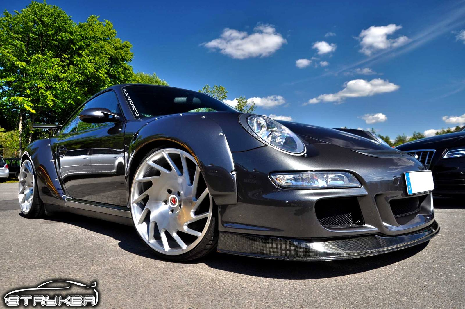 Vossen S New Vle 1 Wheels On A Stillen G37 And Porsche 997 Carscoops Com