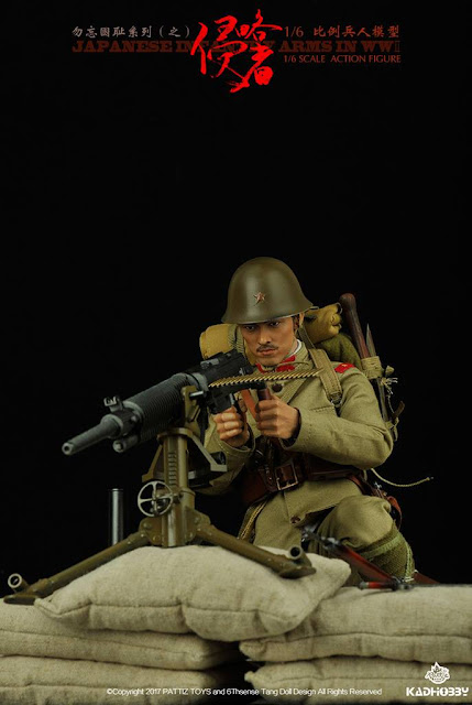 Operation Red Sea ARTILLEUR-Knife /& Gaine 1//6 Scale-Damtoys Action Figures