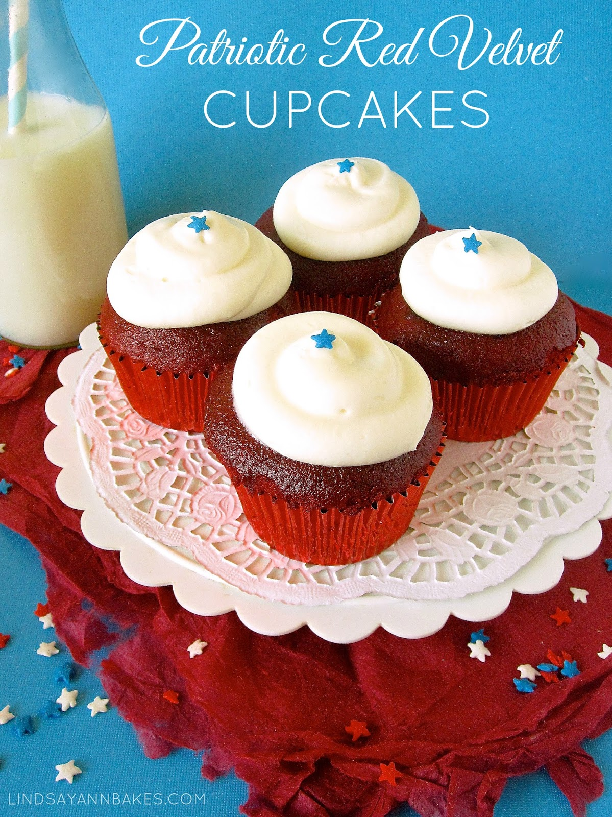 This twist on my favorite Red Velvet cupcake recipe is a perfect ...