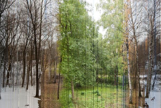 Um ano inteiro numa imagem | manipulação fotográfica digital | Fotografia de Eirik Solheim