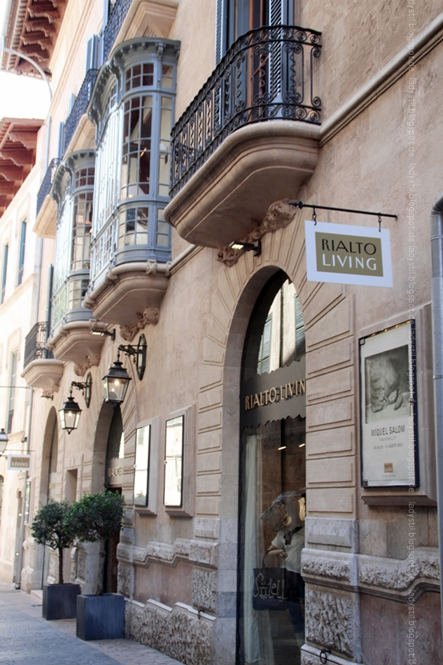 Eingang Rialto Living Palma Mallorca