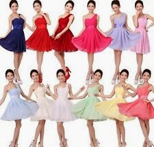 latest design Short Red Prom dress