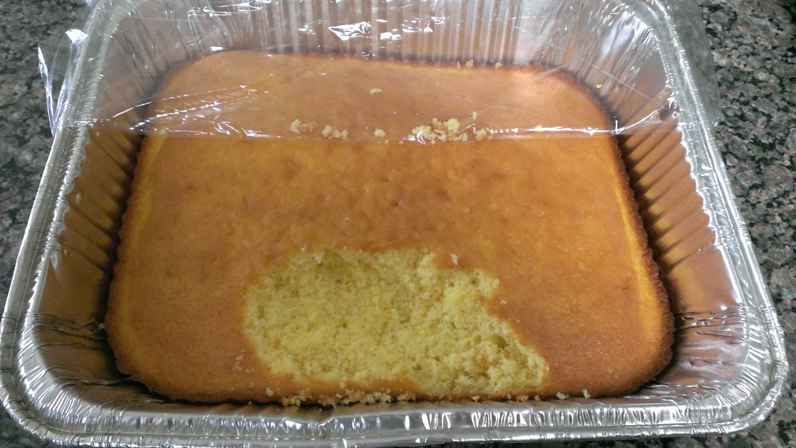 Cooking Cornbread In A Disposable Cake Pan