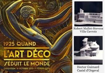 Art Déco et Art Nouveau