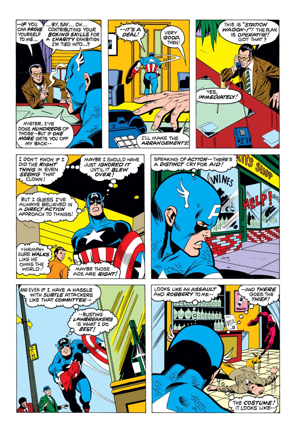 Captain America (1968) Issue #169 #83 - English 12