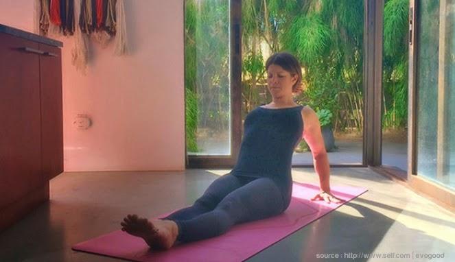 yoga untuk lengan indah
