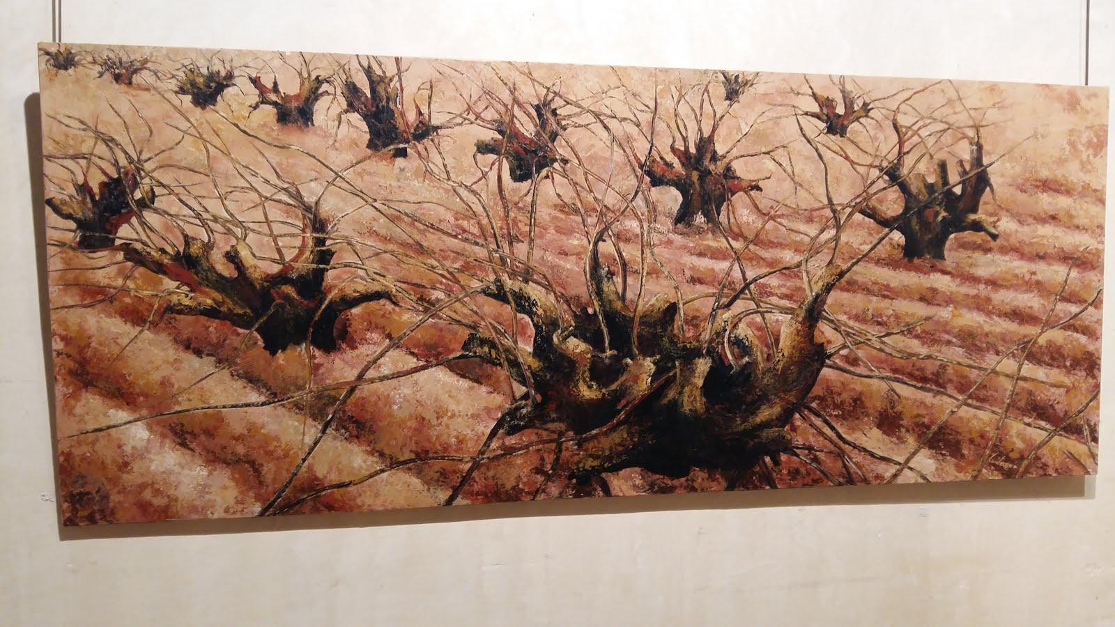 La Vid en la obra de Cati Laguía