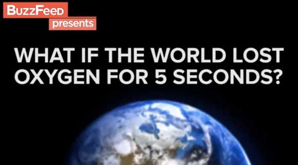 No Oxygen On Earth For 5 Seconds