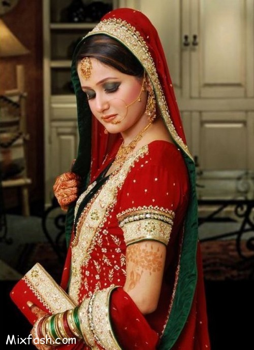 Latest Pakistani Bridal Dresses 2015