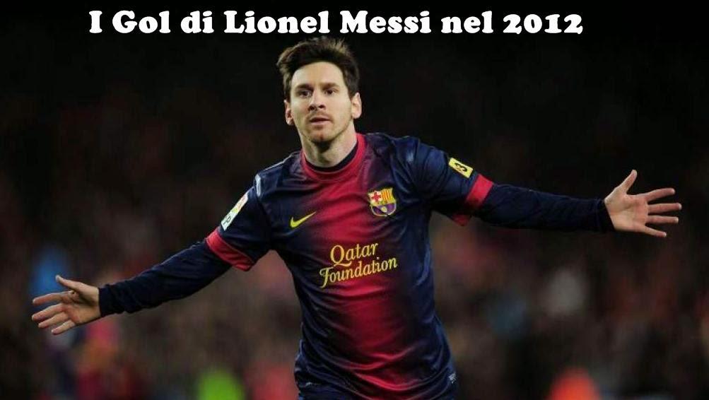 Lionel Messi Gol 2012